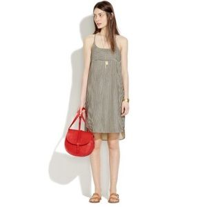 Madewell Cotton Shift Dress in Ticking Stripe 8
